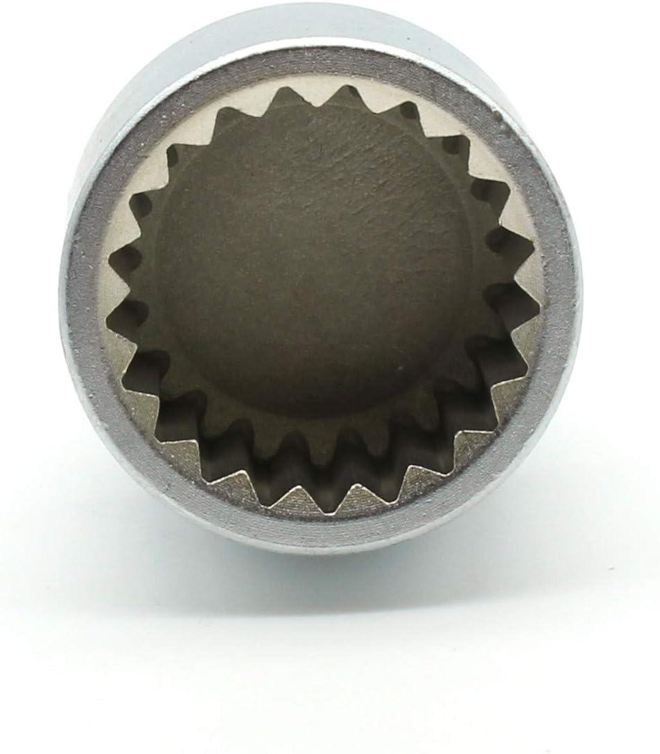 TEMO #57 Anti-Theft Wheel Lug Nut Removal Socket Key 3437 for Porsche