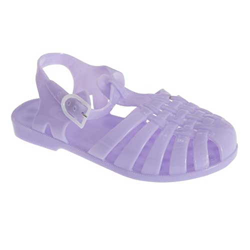 04db5f436251a3 Universal Textiles Childrens Girls Closed Buckle Fasten Jelly Sandals   Amazon.ca  Shoes   Handbags