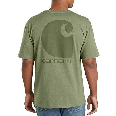 Carhartt 103559 - Camiseta de Manga Corta para Hombre con Logotipo ...