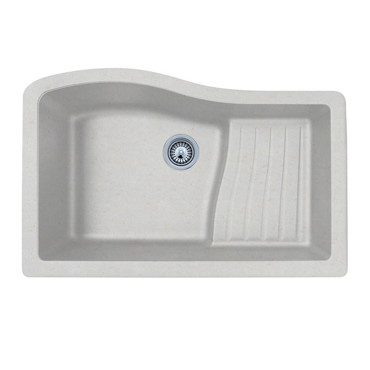 Swanstone Granite Kitchen Sinks Swanstone Quad 3322076 33 Inch By 22 Inch Undermount Ascend Bowl