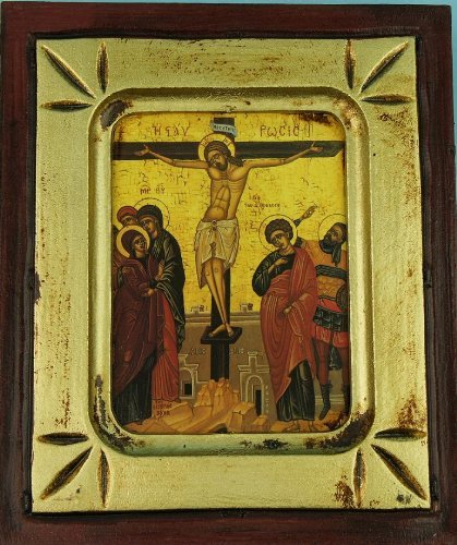 Icon. Crucifixion 4.5