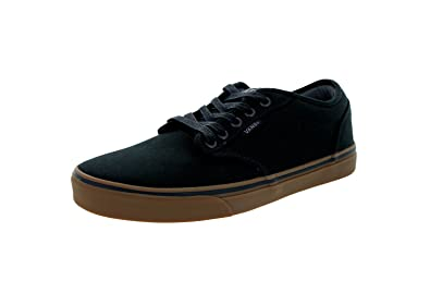 39d79d393a Vans Unisex Shoes Atwood Black Gum Fashion Skate Sneakers (7.5 Men s  9  Women s