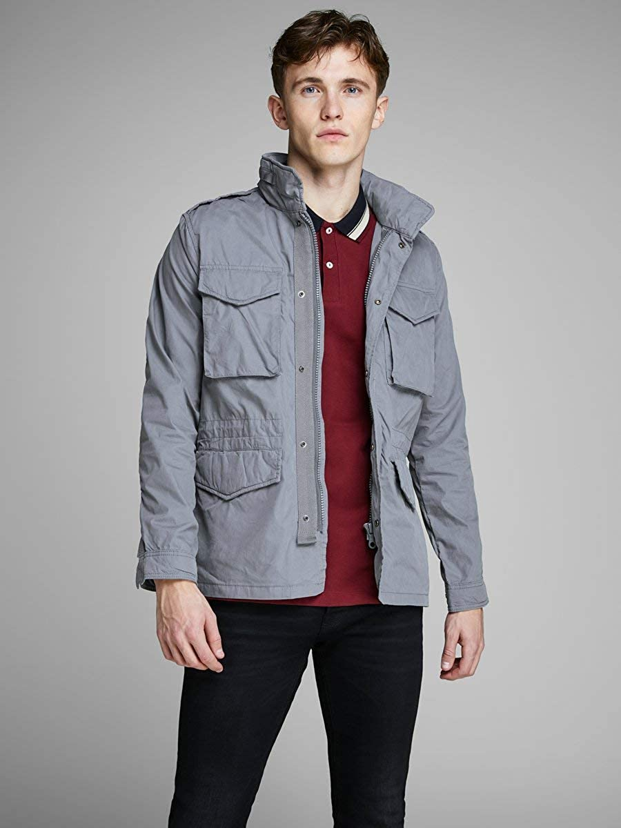 JACK /& JONES Jprtactical Field Jacket Parka Uomo