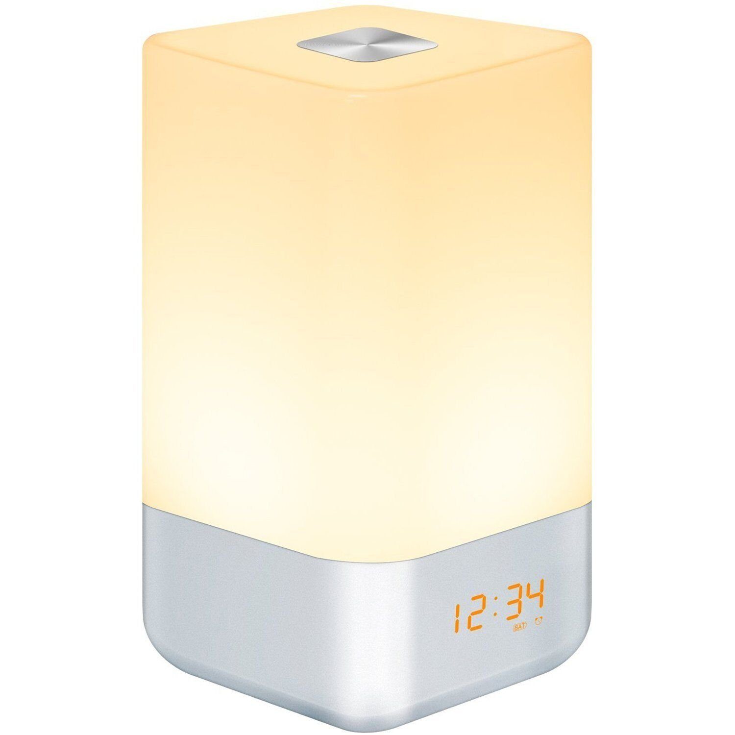 HogarTech Luz de Despertar Wake Up Light Làmpara de Noche Simulación Sunrise
