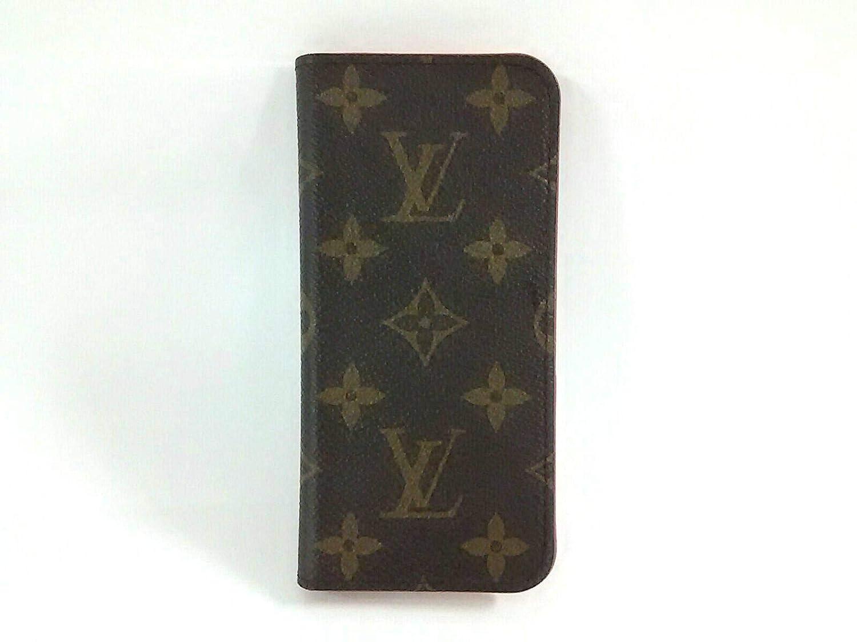 (ルイヴィトン)LOUIS VUITTON 小物入れ 携帯電話ケース IPHONE7フォリオ ルージュ M61907 【中古】   B07PRDZ62F