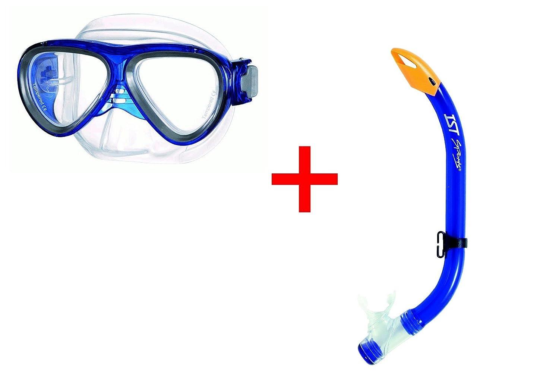 M-59 gafas de buceo para niños M59Blau+Schnorchel Blau: Amazon.es: Deportes y aire libre