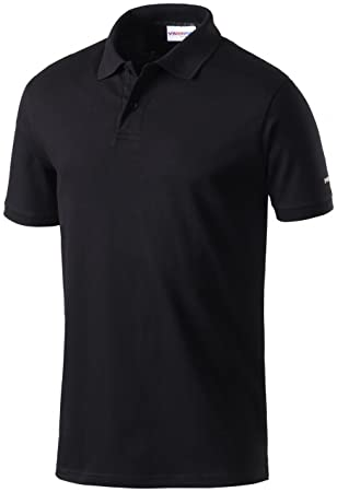 c18a968ab67a4 Intersport H Polo CORPORATE Collection 2, Black, M [Misc.]: Amazon ...
