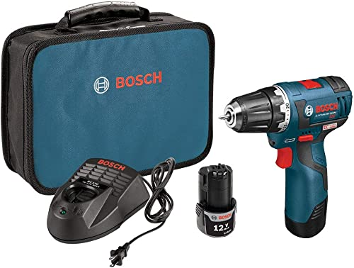 Bosch PS32-02-RT 12V MAX Cordless Lithium-Ion 3 8 in. Brushless Drill Driver Kit Renewed