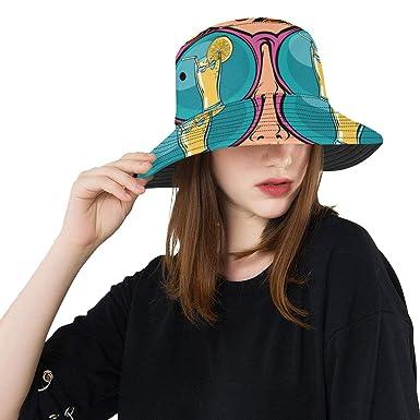 Gorra de Pescador para Hombre Una Mujer con Gafas de Sol ...
