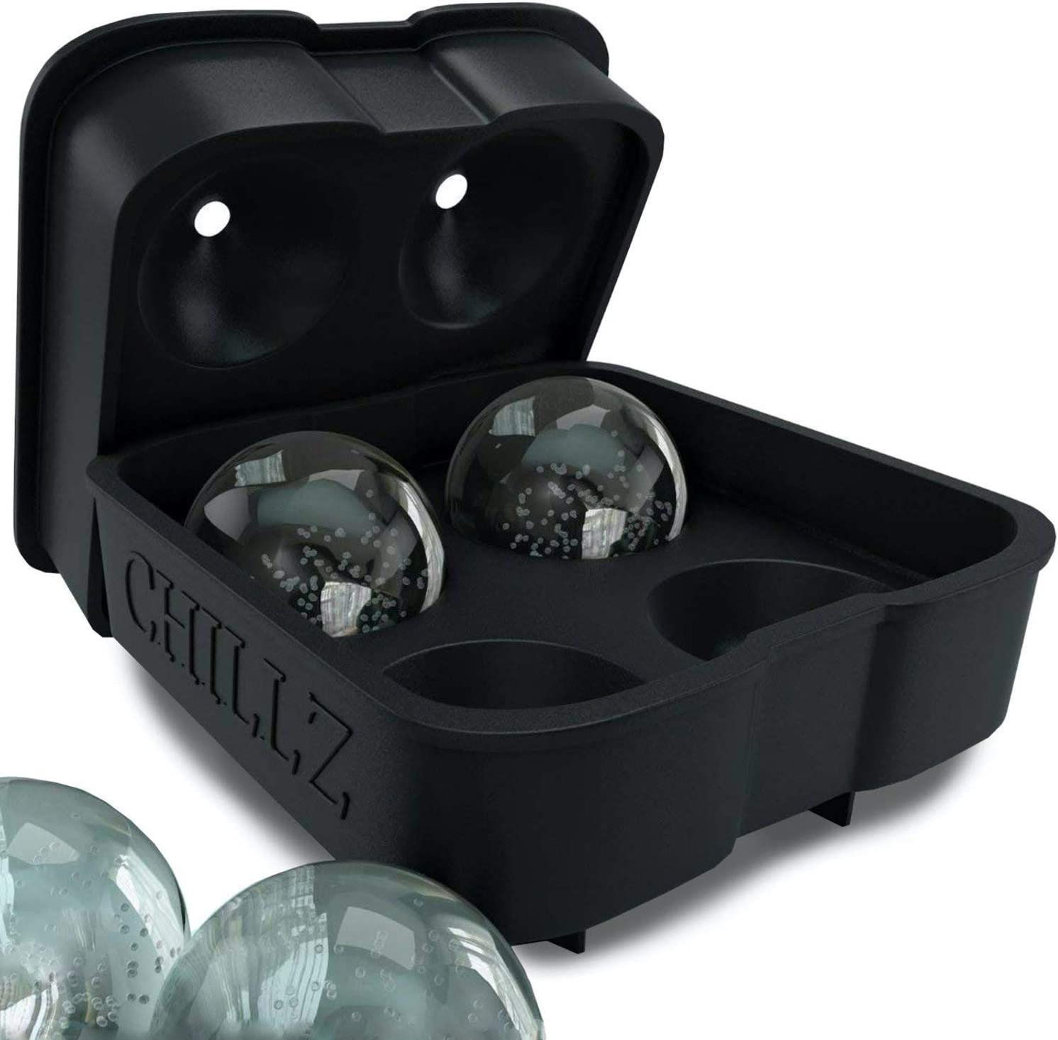 10-cavity Bullet Ice Tray Ice Mold Flexible Silicone Mold Handmade DIY Mold