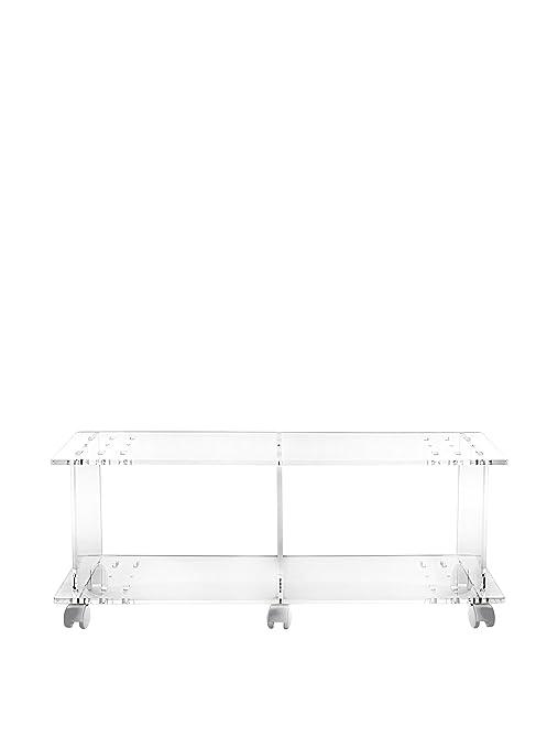 Mobile Porta Tv Plexiglass.Iplex Design Imago Mobile Porta Tv Con Ruote Plexiglass