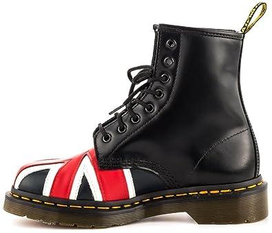 e5a264301 Dr. Martens Union Jack 8 Eye Boot Black 41: Amazon.co.uk: Shoes & Bags