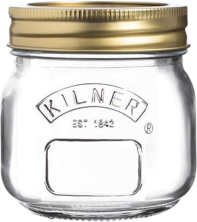 """Contenitore per Conserve Edizione /""""Anniversary/"""" 0.05 Litre Kilner Vetro Transparent"""