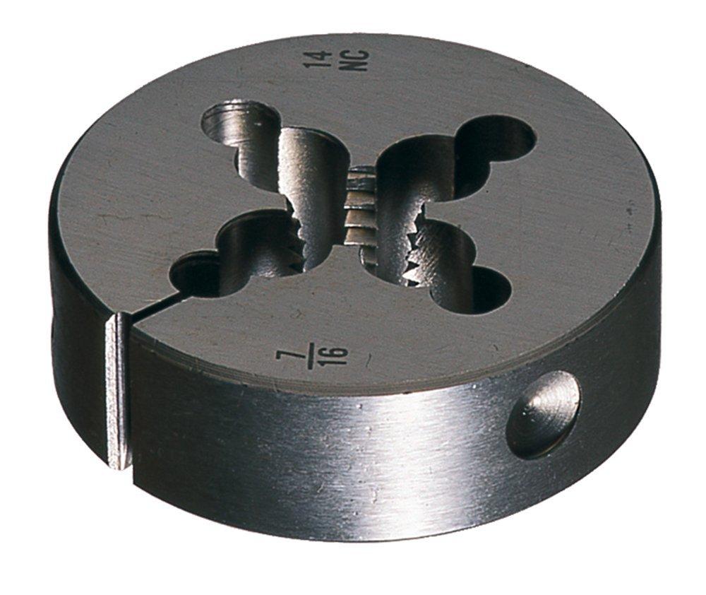 Cle-Line C65433 Carbon Steel Round Adjustable Die 1-1//4-7 UNC
