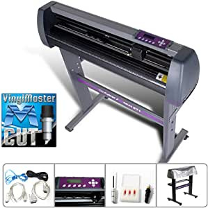 USCutter 34-inch Vinyl Cutter Plotter with Stand and VinylMaster and Cut Software
