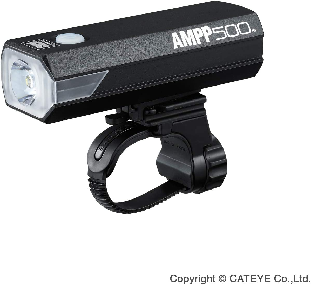 CatEye Ampp 500 Front Luz para Bicicleta, Unisex Adulto, Negro, Talla única