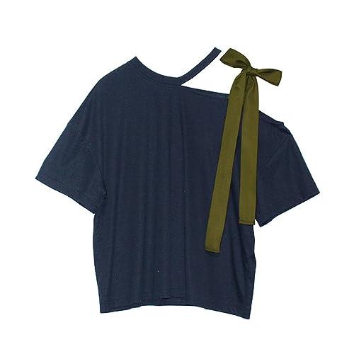 COCO clothing - Camisas - Wickelbluse - Básico - Cuello redondo - para mujer