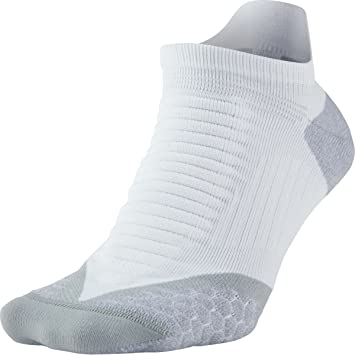 Nike No Show Socks Elite Running Cushion NST Calcetines, Unisex Adulto, Blanco/Gris (White Wolf Grey), 48.5-50.5: Amazon.es: Deportes y aire libre