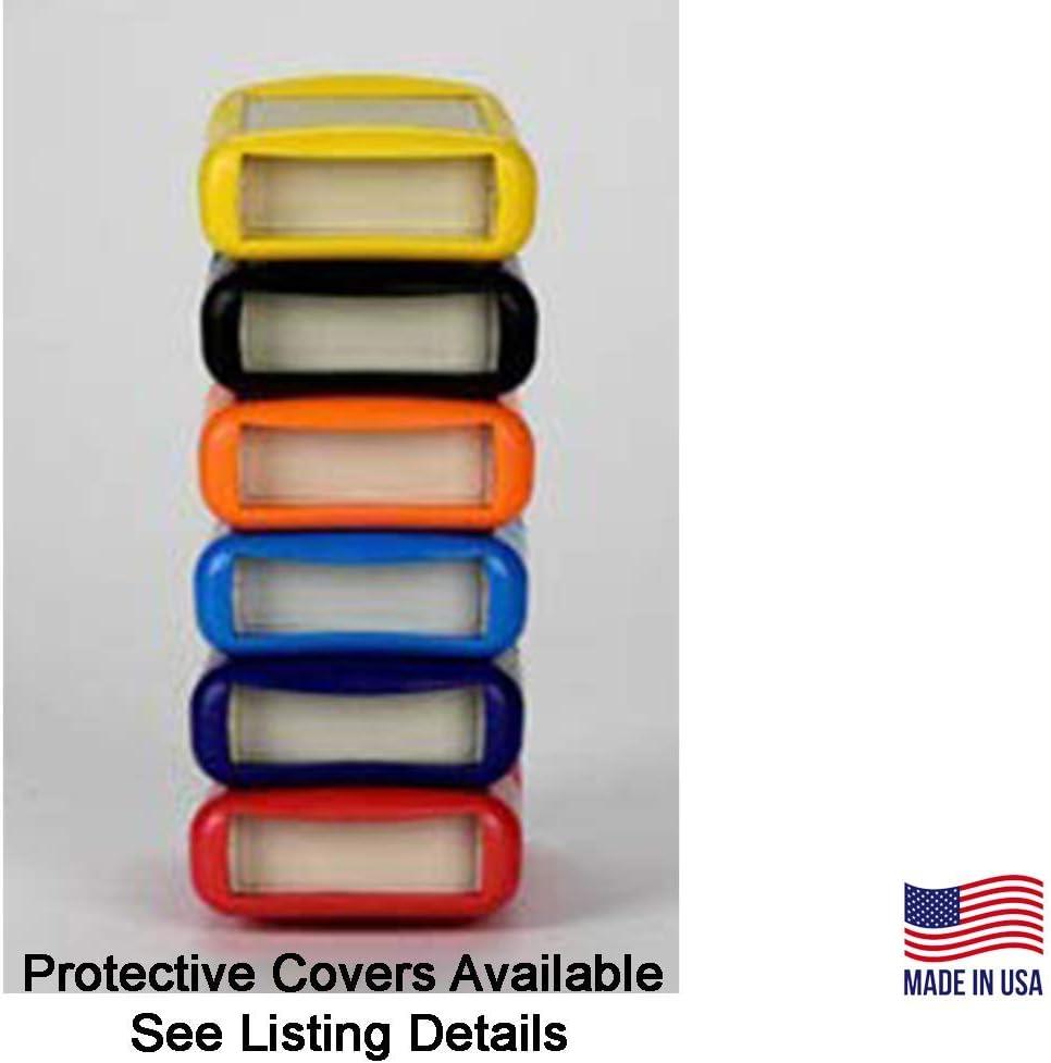 Black Flush Top Surface DIY Enclosure Hand Held Plastic Project Box Box Enclosures PACK of 3: 60-12-9V-F-BL 9V Battery 4.4 x 2.5 x 0.9