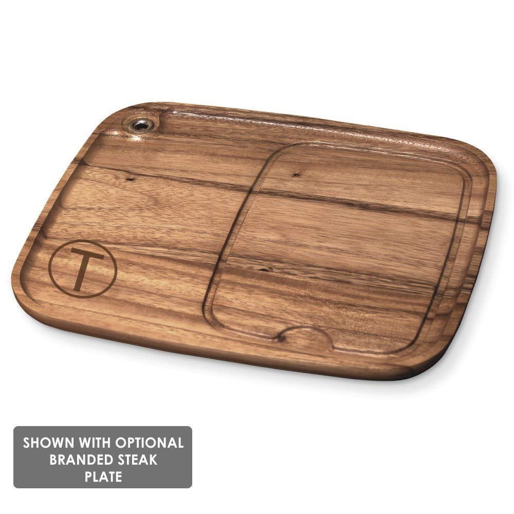 Buns BBQ Fans Medium Branding Iron for Steak Wood /& Leather SB-MEDIUM