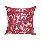 Weiliru Cotton Print Bed Pillowcases White Pillow Covers Decorative Standard Envelope Closure 45cm x 45cm