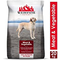 Wilderness Adult Dry Dog Food, Meat and Vegetable - 20 kg Pack