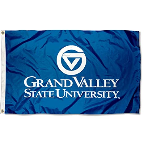 b990c5c3b49 Amazon.com   College Flags and Banners Co. GVSU Lakers 3x5 Flag   Outdoor  Flags   Sports   Outdoors