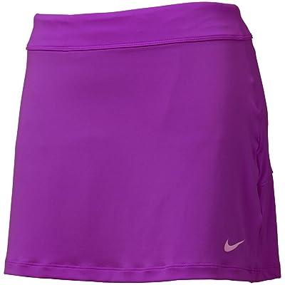 Nike Golf Women's Nike Short Fairway Drive Skort Bold Berry/Bold Berry/Violet Shock Skirt XL X 3 at Women's Clothing store