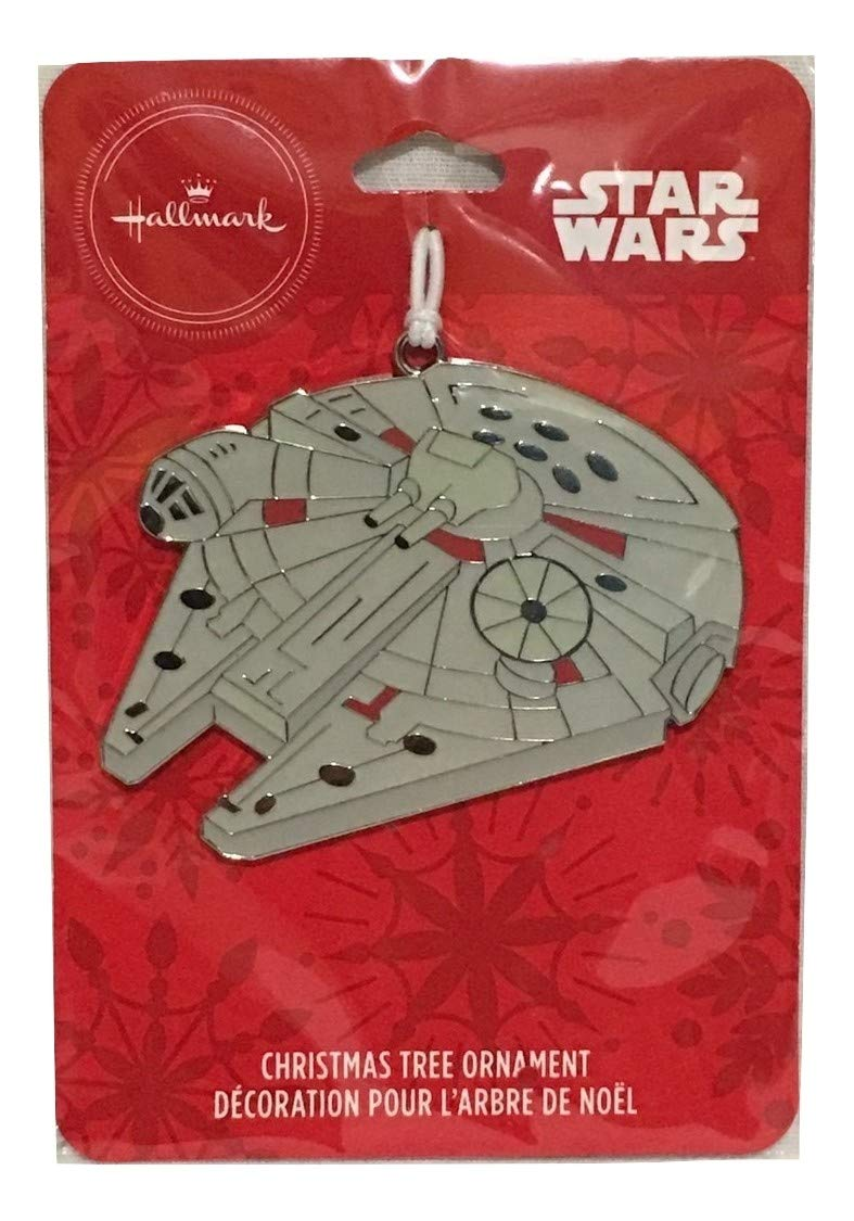 Star Wars Hallmark Millennium Falcon Christmas Tree Ornament