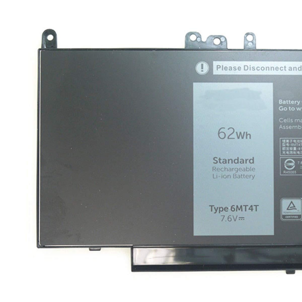Dentsing 62Wh 6MT4T Battery for Dell Latitude E5470 E5570 Precision 3510 0HK6DV 079VRK TXF9M 0TXF9M by Dentsing (Image #2)