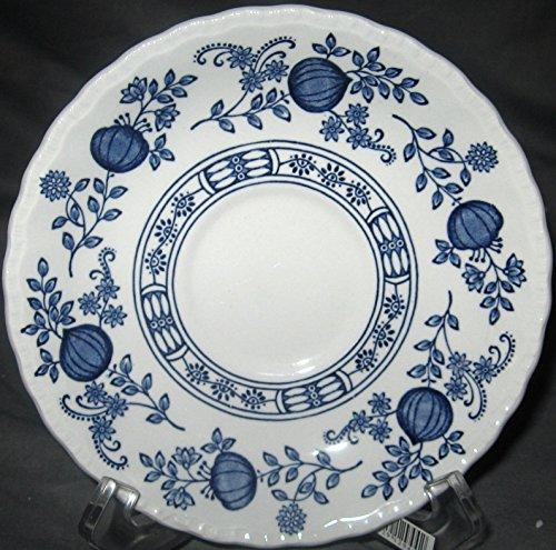 Wedgwood Blue Heritage Saucer