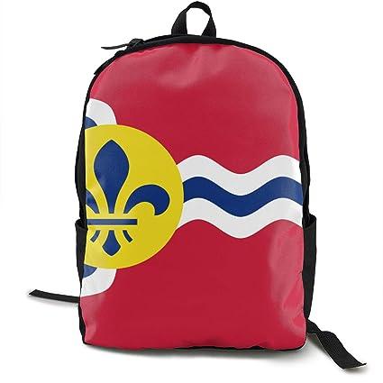 d67cc4f00110 Amazon.com: GHDW544AHG Flag Of St. Louis, Missouri Travel Business ...