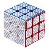Dreampark 3x3 Speed Cube, Carbon Fiber Sticker 3x3x3 Magic Cube Puzzles