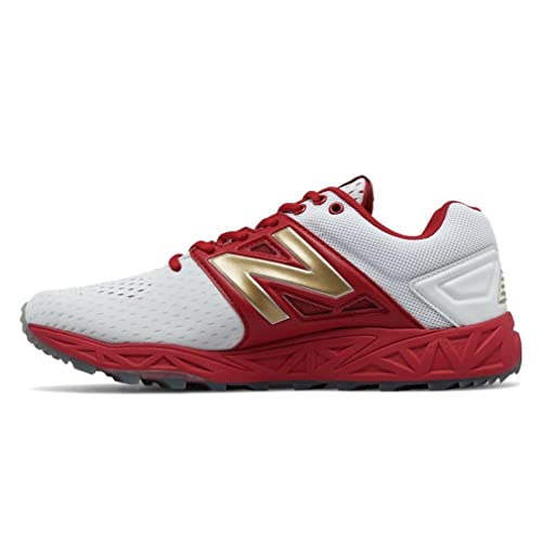 New Balance Turf 3000v3 Playoff Pack - Red White Red White / D / 10