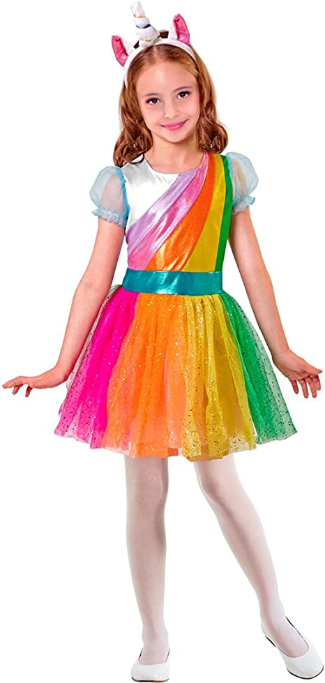 NET TOYS Disfraz Infantil Unicornio - 135 - 140 cm, 8 - 10 años ...