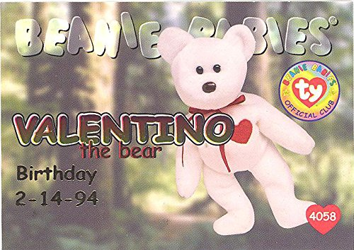 Used, TY Beanie Babies BBOC Card - Series 1 Birthday (RED) for sale  Delivered anywhere in USA