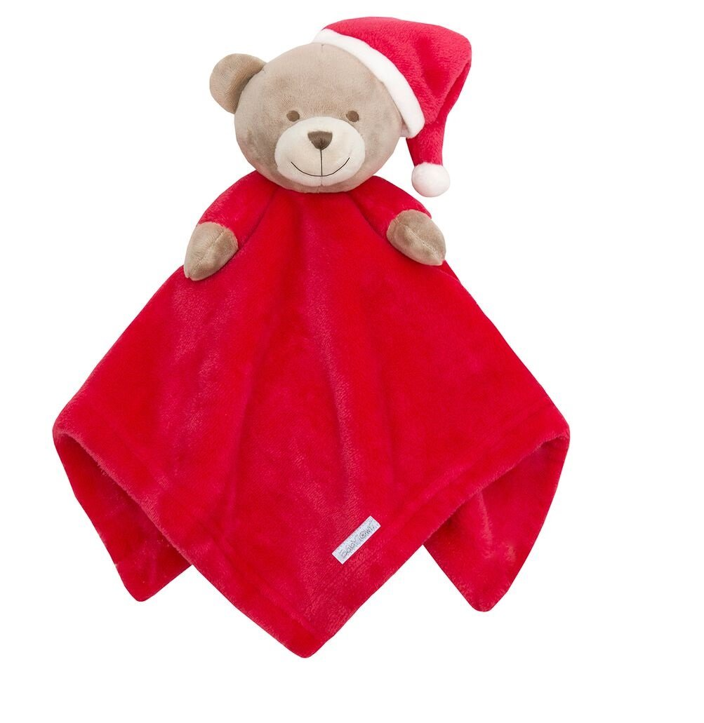 Christmas Teddy Baby Comforter and Blanket Set Baum Trading