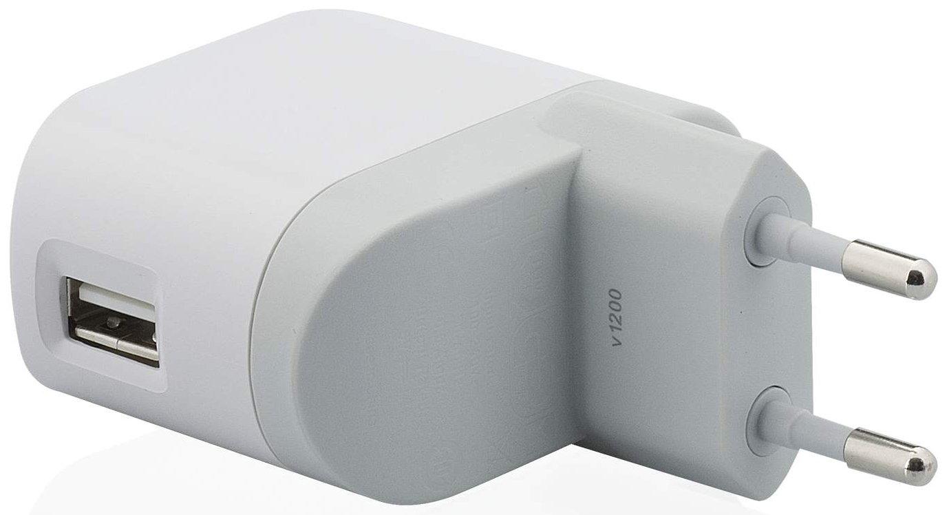 Belkin F8Z563CW - Cargador doméstico de móvil (220 V, USB, 1 A), Blanco