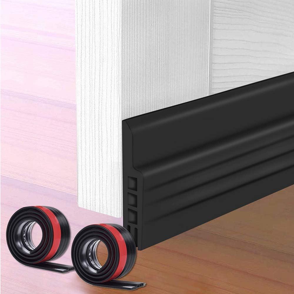 Under Door Sound Proof Draft Guard Stopper Door Bottom Sealing Weather Strip