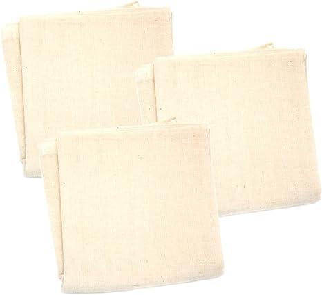 Popolini - Gasas de algodón, 3 unidades, 70x70cm: Amazon.es: Bebé