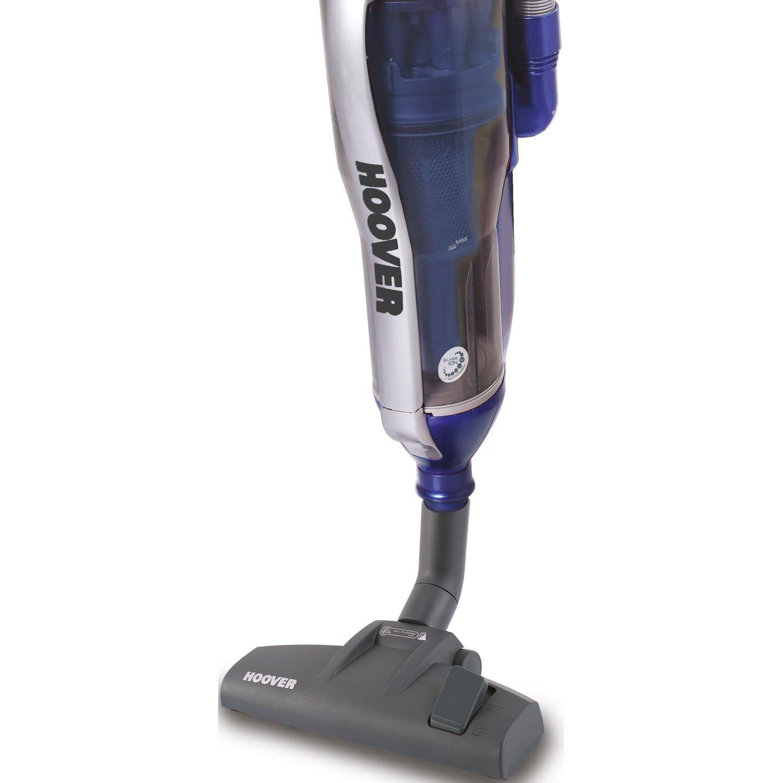 Hoover SY71_SY02011 aspiradora de pie y escoba eléctrica Sin bolsa Azul 1,2 L 750 W - Aspiradora escoba (Sin bolsa, Azul, 1,2 L, HEPA, Ciclónico, C): Amazon.es: Hogar