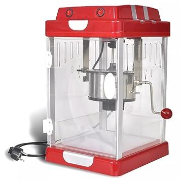 Lingjiushopping máquina š € Pop Corn profesional 2,5 onzas acero inoxidable (tetera eléctrica) y bandeja extraíble (plástico): Amazon.es: Hogar
