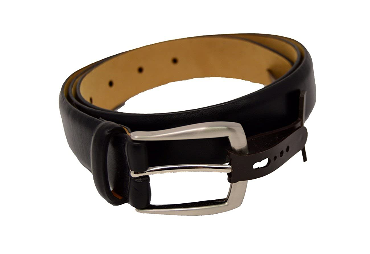 4696bb846ffe Tasso Elba Mens Italian Vachetta Grain Belt at Amazon Men's Clothing store: