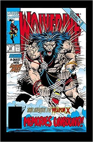 Wolverine Weapon X Unbound Marvel Graphic Novel Comic Book