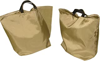 product image for Two (2) Pack Reusable Grocery Canvas Bags Great Shopping Bag for Everyday Use.