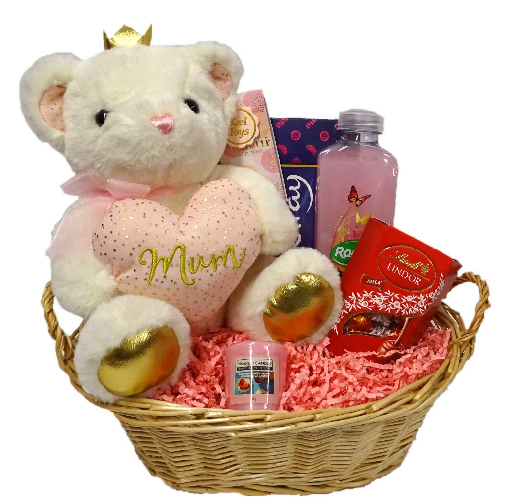 It S Mine Mothers Day Birthday Gift Basket Hamper For Her Mothers Day Present For Mum Mummy Teddy Buy Online In South Africa At Desertcart