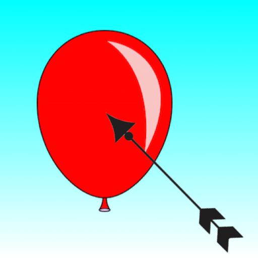 Aim And Shoot Balloon With Bow - No Bubble In The (Float Arc)