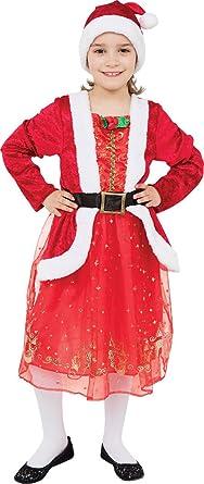 3f3ccce9a Kids Christmas Party Fancy Dress Book Week Day Xmas Santa Girl ...