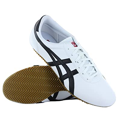 huge discount b7599 f7c6e Onitsuka Tiger Tai-Chi White Black Mens Trainers Size 7 UK ...