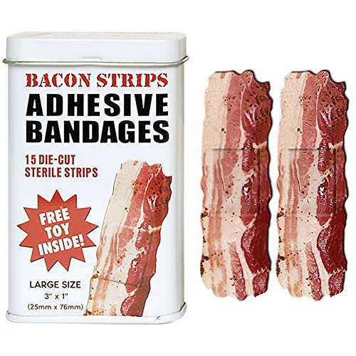 Accoutrements Bacon Strips Bandages(Discontinued by manufacturer) (Games For Groups Christmas Themed)